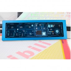 "1920x515 8.8"" IPS Screen For AIDA64 Display Dynamic Display Adjustable Brightness Metal Shell Blue"