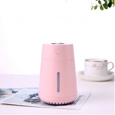 L01 200ML Humidifier Diffuser Office Home Humidifier Colorful Atmosphere Light w/ USB Fan USB Light