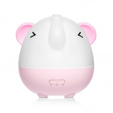 L-103 Cute Elephant Aroma Diffuser Humidifier 250ML Air Humidifier Rechargeable With Night Light