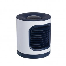 L06 Home Ionic Air Purifier Oscillating Fan Wide Angle Rechargeable 4000MAH Projection Night Light