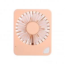 U2 Summer Small Desk Fan Mini Handheld Fan Portable Fan USB Rechargeable Adjustable Angles & Speeds