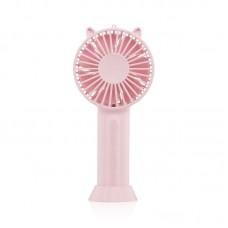 FS-MM-01 Mini Handheld Fan Small Desk Fan USB Rechargeable Portable Fan Eye-Catching Cat Appearance