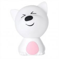 L2 Cute Doggie Colorful Night Light Bedroom Lovely Silicone Kids Bedside Lamp USB Rechargeable