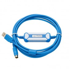 USB-SC09-FX PLC Programming Cable Suitable For Mitsubishi FX All Series FX2n FX3U FX1N PLC