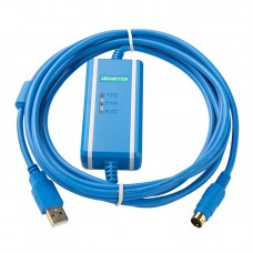USB-SC09-FX Isolation Programming Cable Suitable For Mitsubishi FX All Series FX2n FX3U FX1N PLC Isolated Adapter