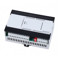 AMX-FX3U-26MR for Mitsubishi MELSEC PLC Relay 2AI/1AO 16DI/10DO Ethernet MODBUS function USB-SC09-FX Programming Cable
