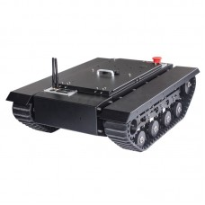 TR500S Robot Chassis Tank Chassis All-Terrain Chassis Rubber Track Assembled Load 50KG No Controller