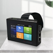 """DS-2FG0001-W Wrist CCTV Tester 4K IP Camera Tester H.265 H.264 Encoding With Wifi 4"""" Touch Screen"""