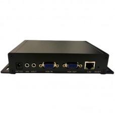 VGA Encoder H.265 VGA To Network VGA Loop Out 1920x1200 For RTMP/RTSP/HTTP TS/HTTP FLV/HLS/UDP/RTP