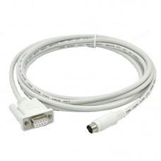PLC Programming Cable 1761-CBL-PM02 For MicroLogix 1000 1200 1500 Series Allen Bradley PLC Cable 1761CBLPM02
