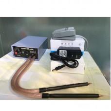 5000W Spot Welding Machine Home Small Handheld 18650 Battery Spot Welding Pedal Type High Power US Plug