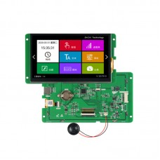7-inch 800 * 480 8p Interface Capacitance Touch Screen 232 Communication LCD Display Touch Screen Module
