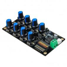 8 Channel Servo Controller Board V2.0 Servo Tester Overload Protection To Control Mechanical Arm