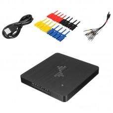 DSLogic Plus 16CH Logic Analyzer USB 2.0 400MHz Sampling Rate 256Mbits Hardware Memory Debugging Kit