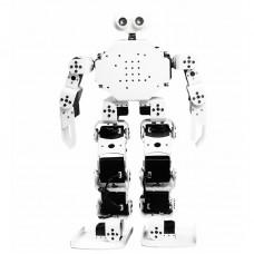 17DOF Humanoid Robot Educational Programming Robot White Assembled Cellphone APP Bluetooth Control