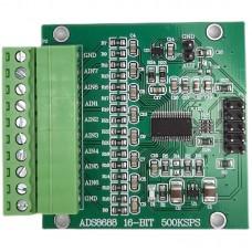 ADS8688 16-Bit 500KSPS Data Acquisition Module Single/Bipolar Input 8-channel SAR/ADC Module