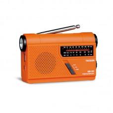 TECSUN GR-99 Emergency Crank Radio DSP Radio FM MW SW For Emergency Charging And Lighting Outdoors