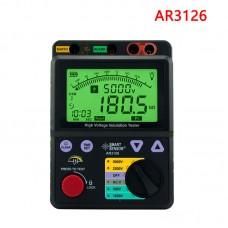 AR3126 Insulation Tester 500~5000V Megohmmeter Digital Insulation Resistance Tester With USB Port