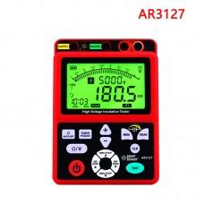 AR3127 High Voltage Insulation Tester 250~5000V Megohmmeter Digital Insulation Resistance Tester