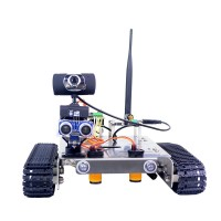 GFS Robotic Car Robot Tank Kit Wifi Video Smart Car Unassembled With Main Board For Arduino UNO