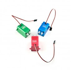 Happymodel CRRCPRO BLP1000 RC Smoke Pump System Red Adjustable Flow For Turbojet Gasoline Engine
