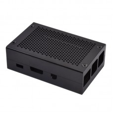 For Raspberry Pi 3 Case Black Aluminum Alloy Raspberry Pi 3 Heatsink Case Perfect For DIY Makers