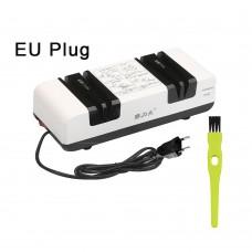 Professional Electric Knife Sharpener Multifunctional Automatic Cut Sharpeners  EU Plug White