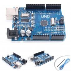 UNO R3 ATmega328P CH340G USB Driver Board Module w/ USB Cable For Arduino SE