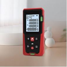 """DUKA LS3 80M/262.5FT Laser Distance Meter Laser Distance Measurer IP54 With 2.0"""" Backlit LCD Screen"""