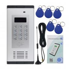 K6 Wireless Intercom System Security 2G Audio Intercom Gate Door Entry Access Control RFID
