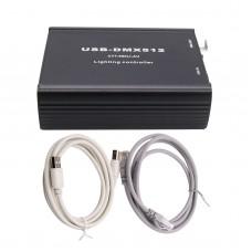 Multi-function USB-DMX512 Lighting Controller ArtNet DMX512 Network Control WYS Converter