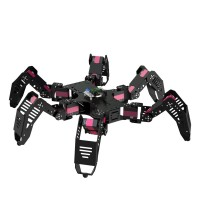 18DOF Spider Hexapod Robot Spider Robot Unassembled Frame w/ Servos Controller Joystick Bluetooth