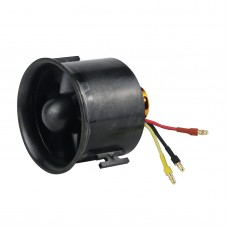 QF2827-2300KV 70MM Ducted Fan Motor 6-Blade EDF Motor Airplane Motor Set For RC Model Aircraft Drone