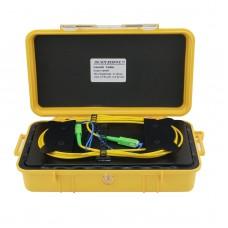 1000M/3280.8FT OTDR Launch Box Fiber Optic Launch Cable With SC/APC-SC/APC Connectors For SM Fiber
