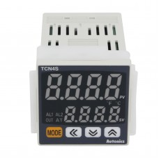 TCN4S-24R Dual Display PID Temperature Controller 48x48 100~240VAC 100ms Sampling