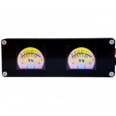 Dual Channel Spectrum Display Car Rhythm Atmosphere Virtual VU Meter DIY Hifi Audio Input Buffer Isolation