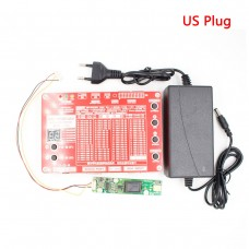 T-80S 8th Generation Laptop TV/LCD/LED Test Tool LCD Panel Tester w/ Adapter Support 7-84 Inch LVDS interface US Plug