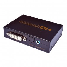 NK-X3 HD Video Converter HDMI To DVI + SPDIF/Headphone For TV Projector DTS/AC3/PCM/LPCM/ETC/PCM