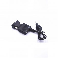 NK-X1 Mini VGA To HDMI Converter Adapter Full HD 1080P VGA (Input) Audio (Input) HDMI (Output)