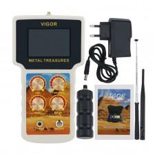 VIGOR METAL TREASURES Gold Detector Gold Finder Field Metal Detector Set With Waterproof Carry Case
