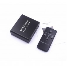 NK-L41 Optical Audio Splitter For SPDIF/Toslink Switcher 4x1 With IR Toslink Splitter 4 In 1 Out