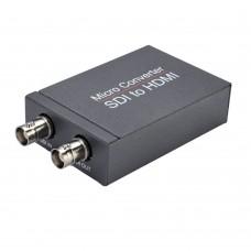 NK-M008 Micro Converter SDI To HDMI Converter HD-SDI 3G-SDI Signals Displayed On HDMI Monitor
