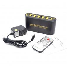 NK-T42 Optical Matrix For SPDIF/Toslink Digital Optical Audio 4x2 Matrix DTS-HD/Dolby-True HD