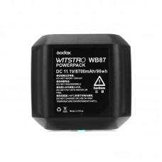 Godox WITSTRO WB87 (WB-87) Battery Pack 11.1V 8700Mah For AD600 AD600B AD600BM AD600M Flashes