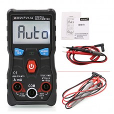 ZOYI ZT-S4 Digital Multimeter With Pointed Test Probes For Capacitor Frequency Diode Temperature