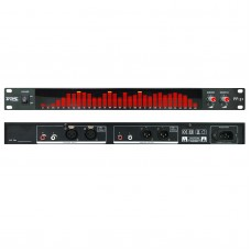 BDS PP-31 Red LED Digital Audio Spectrum Analyzer Display 1U Music Spectrum VU Meter 31 Segments