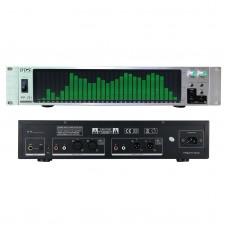 BDS PP-131 Audio Spectrum Analyzer Spectrum Display VU Meter 31-Segment With Silver Panel Green LED