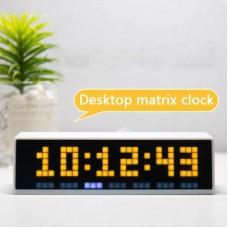 Awtrix Pro Mini Mini Light Panel Ws2812b Light Board 8*32 LED ESP8266 Awtrix Light Awtrix Lamp