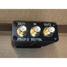 PS-LF-2 BG7TBL Power Divider SMA Connector 2-Way RF Power Splitter 1 IN 2 OUT 0.1M-1G Broadband