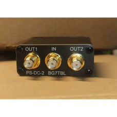 PS-DC-2 Power Divider Module Two-Way RF Power Splitter DC-3.6G Broadband 1 IN 2 OUT w/ SMA Connector